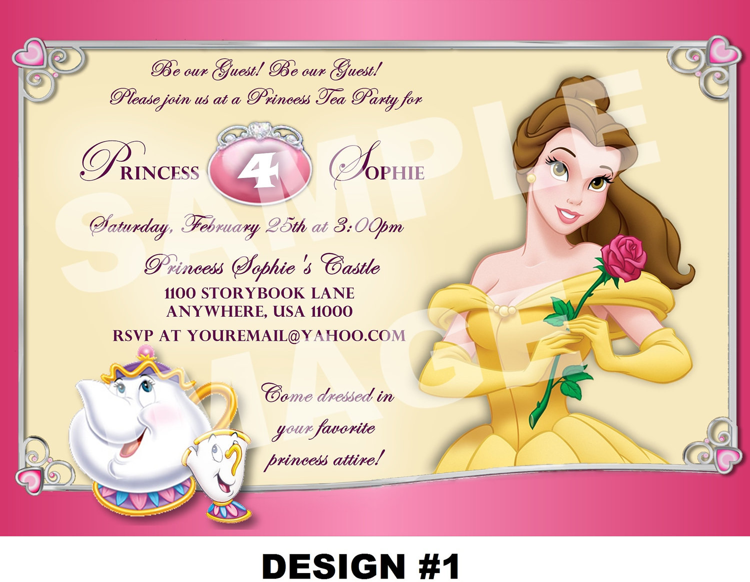 Tea Party clipart disney princess 25+ ideas 4 Best on