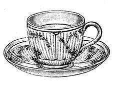 Teacup clipart vintage tea cup I party  Templates waterhousegirl