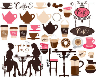 Brownie clipart cafe food Teapot espresso Vegetable latte cappuccino