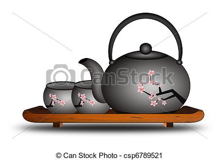 Tea Party clipart japanese #13