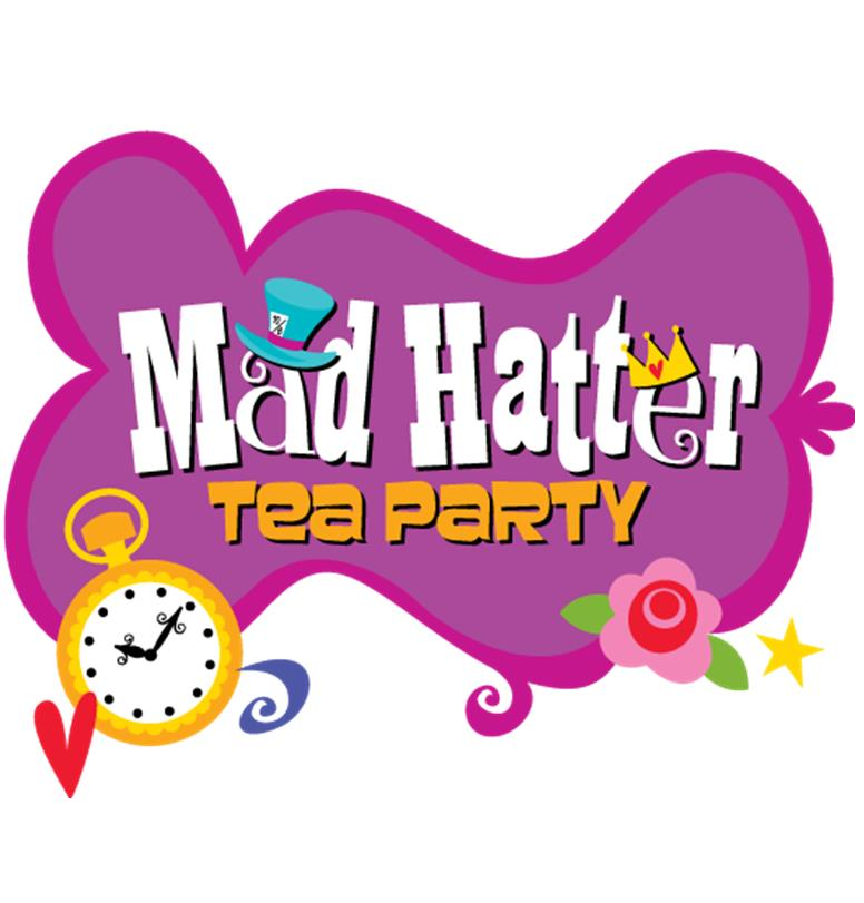 Tea Party clipart mad hatter #3