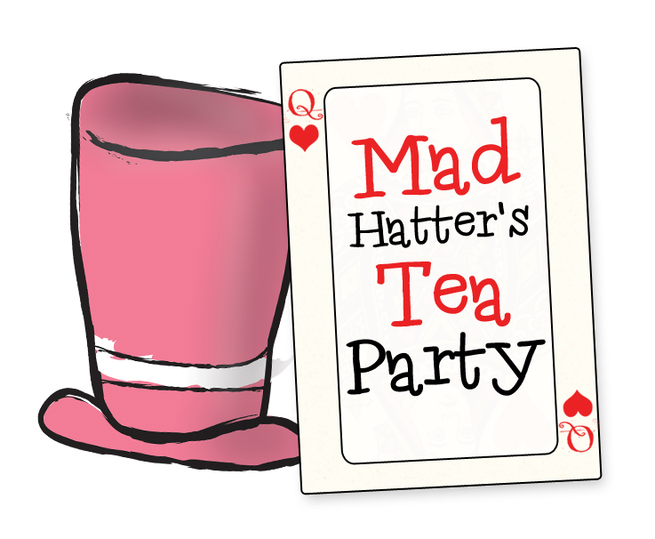 Tea Party clipart mad hatter #9