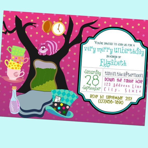 Tea Party clipart merry unbirthday Very Very images Party GoodHueDesigns
