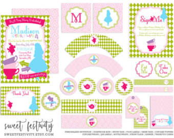 Tea Party clipart merry unbirthday Alice Unbirthday Party Party Merry