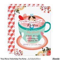 Tea Party clipart merry unbirthday Very Art* Search Tea and