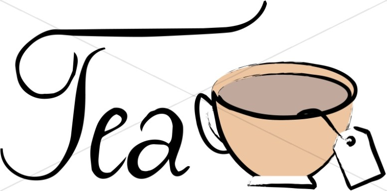 Coffee clipart refreshments Word Refreshments Art Bag Tea