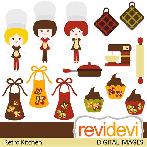 Tea Party clipart retro kitchen #6