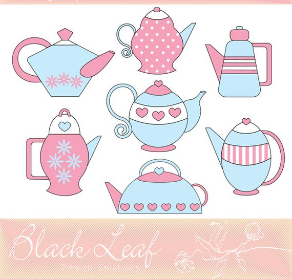 Tea Party clipart retro kitchen #5