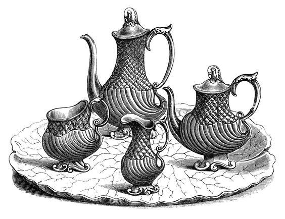 Tea Party clipart retro kitchen #3