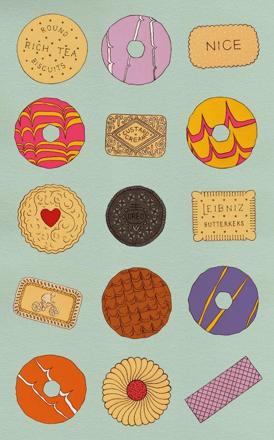 Biscuit clipart jammy LEIBNIZ illustrations RICH Pinterest BISCUIT