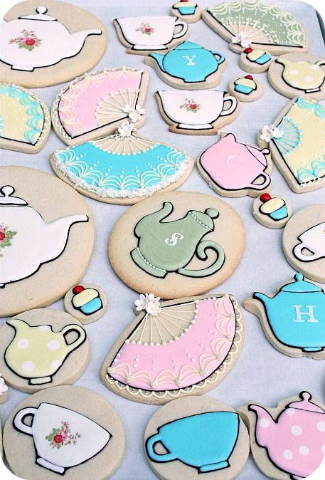 Tea Party clipart tea cookie Tea cookies about on 36