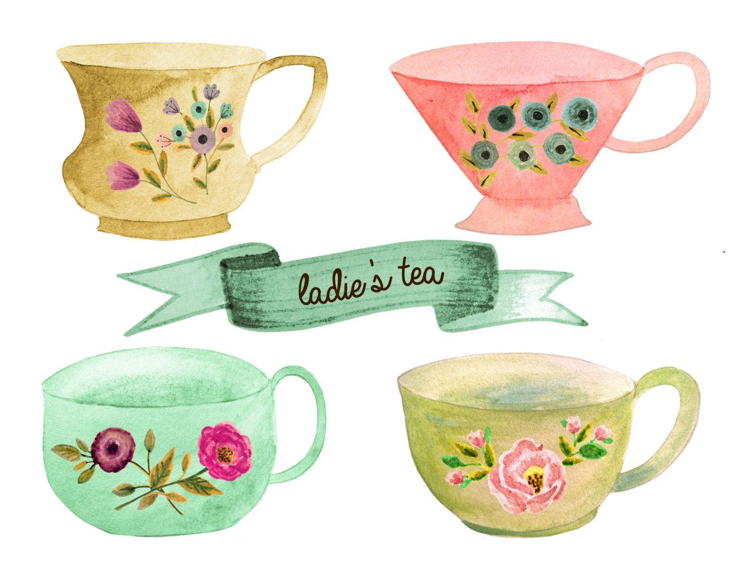 Teacup clipart tea set Pot This is tea clipart