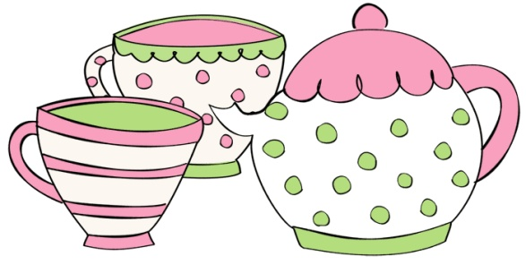 Teapot clipart teacup Parties art teapot party tea