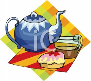 Tea Party clipart tea scone Of Image a Cup of