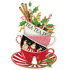 Teacup clipart christmas Lake Christmas (design by Cosy