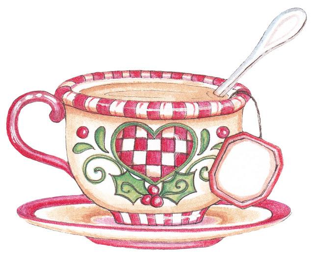 Teacup clipart christmas Stavland Christmas Picasa Anne de