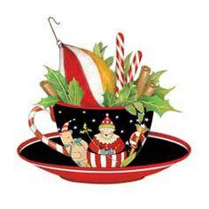 Teacup clipart christmas Christmas ℳҽґґᎽღ Mary *¨*♫✩ Pot