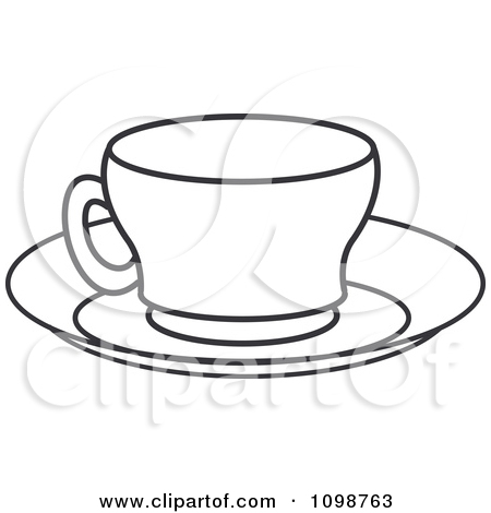 Teacup clipart cup saucer Coffee cup and and cup
