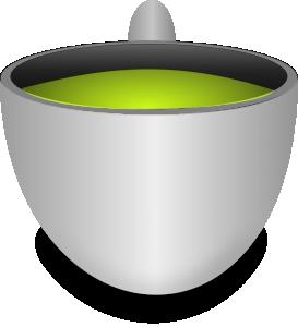 Teacup clipart green tea Art Tea Green Clip Tea