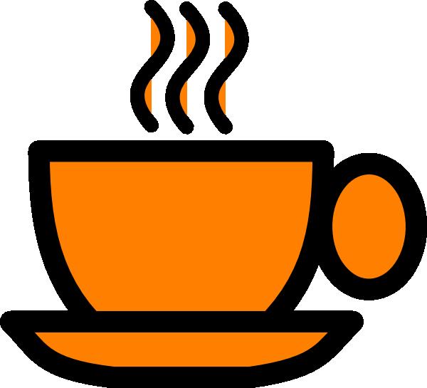Teacup clipart orange Com Orange vector at image