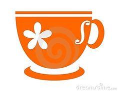 Teacup clipart red ClipArt Cartoon  cup Tea