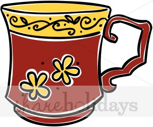 Teacup clipart red Clipart Clipart Mother's Red Red