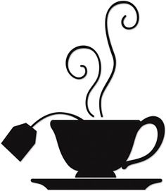 Teacup clipart silhouette Vector on Illustrations Pinterest Cups/Saucers