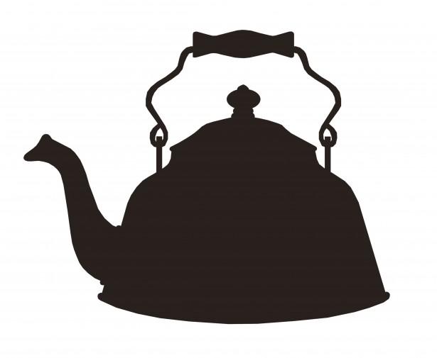 Teacup clipart silhouette Teacup Pot Silhouette Silhouette Tea