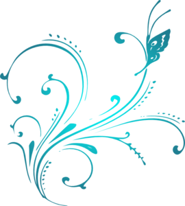 Teal clipart Clipart Download Scroll Teal Teal