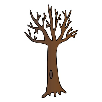 Brown clipart bare tree Art Art Clipart Clipart Free
