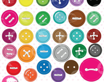 Button clipart sewing button Button buttons digital sewing buttons