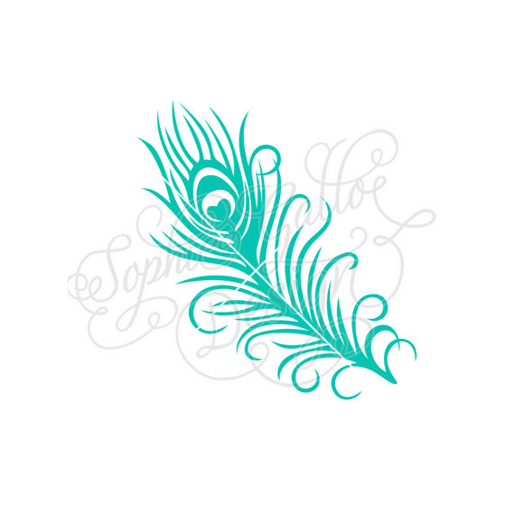Peacock clipart small SVG graphics Etsy download Small