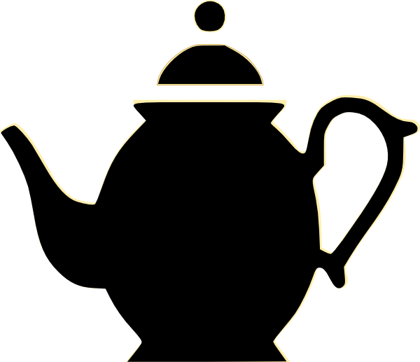 Teapot clipart Clipart And Panda White Black