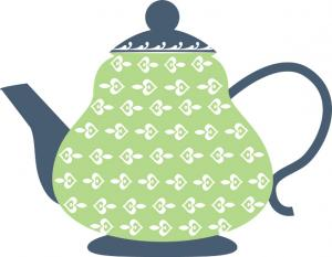 Elegance  clipart party Teapot Clipart White Images And