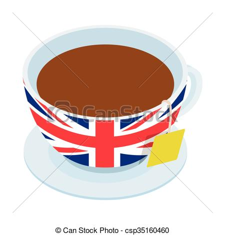 Teacup clipart british Tea clipart British clipart tea