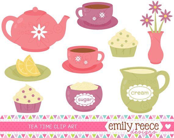 Teapot clipart cute Party Tea Party Use Pinterest