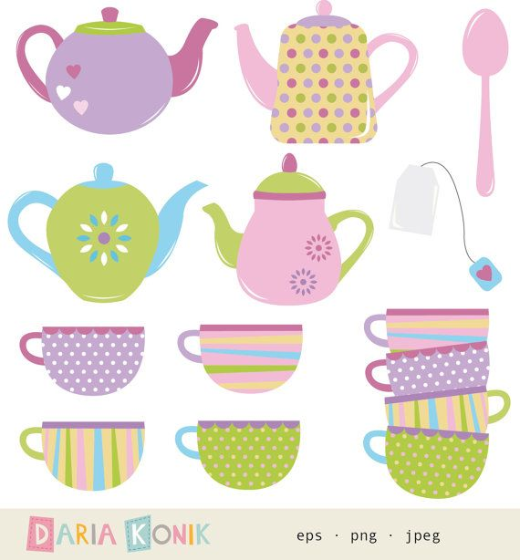 Teapot clipart cute Jpeg images png on Art