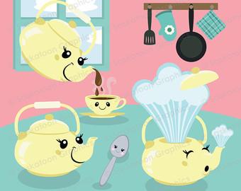 Teapot clipart cute Teapot clipart File Little Instant