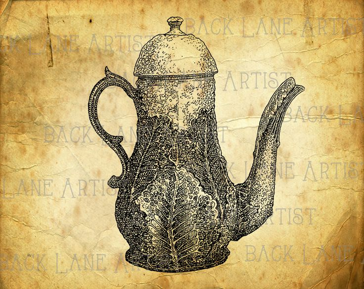 Teapot clipart fifteen Pinterest Line on Image Teapot