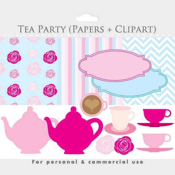 Teapot clipart hot A party digital is teapot
