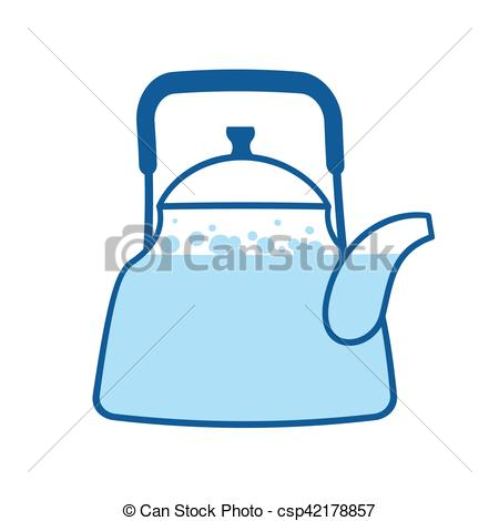 Teapot clipart kitchen utensil Utensils Crockery isolated Boiling Kitchen