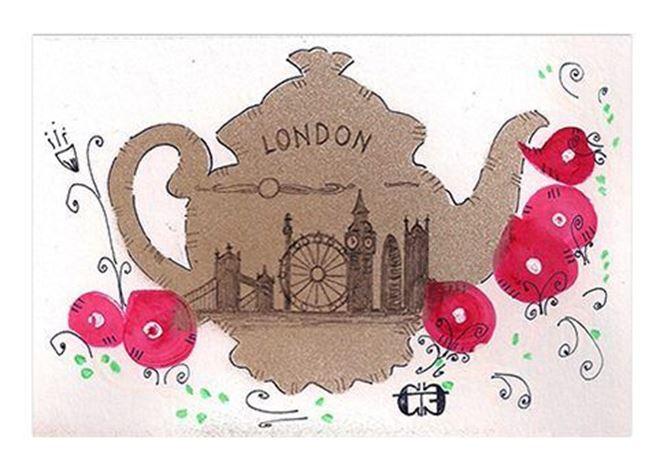 Teapot clipart london City London of Treasures The