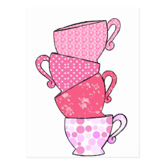 Teapot clipart teacup stack Stacked Stack Tea Tea Zazzle