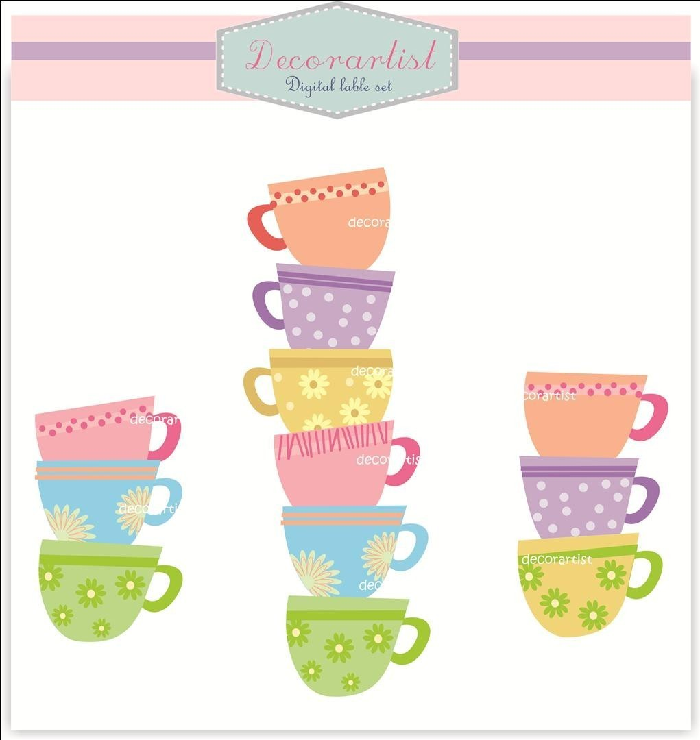 Teapot clipart teacup stack All clip Alice use teacup