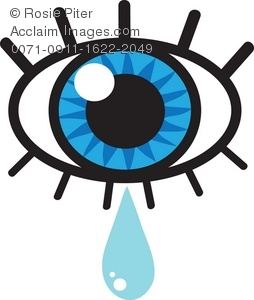 Tears clipart animated Of Crying Illustration Crying Illustration
