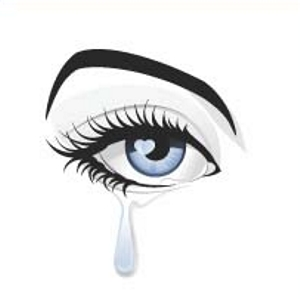 Blue Eyes clipart eye tear Collection Clip Clipart Download tears
