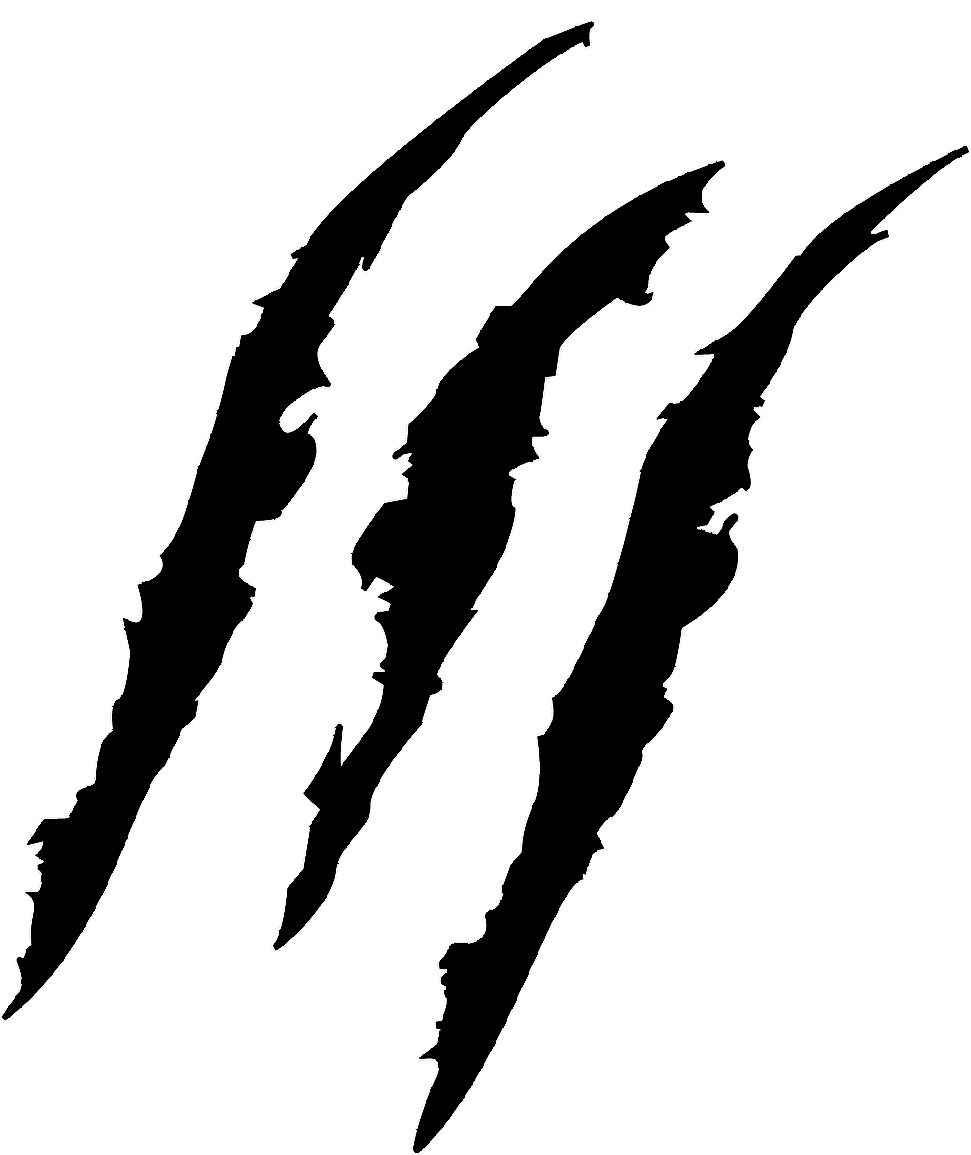 Wolf clipart scratch Art clip Claw tear
