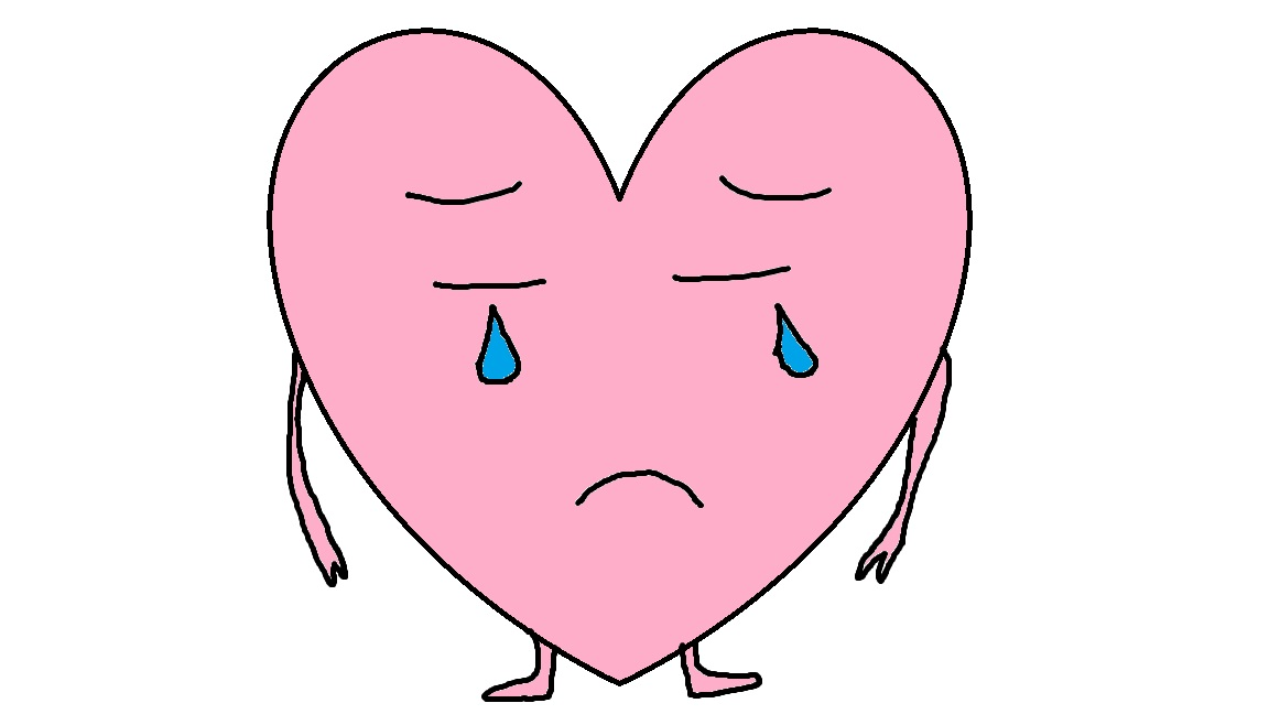 Tears clipart feelings OF OF the Circling HEART