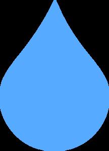 Tears clipart rain droplet Blue Blue Clker art at
