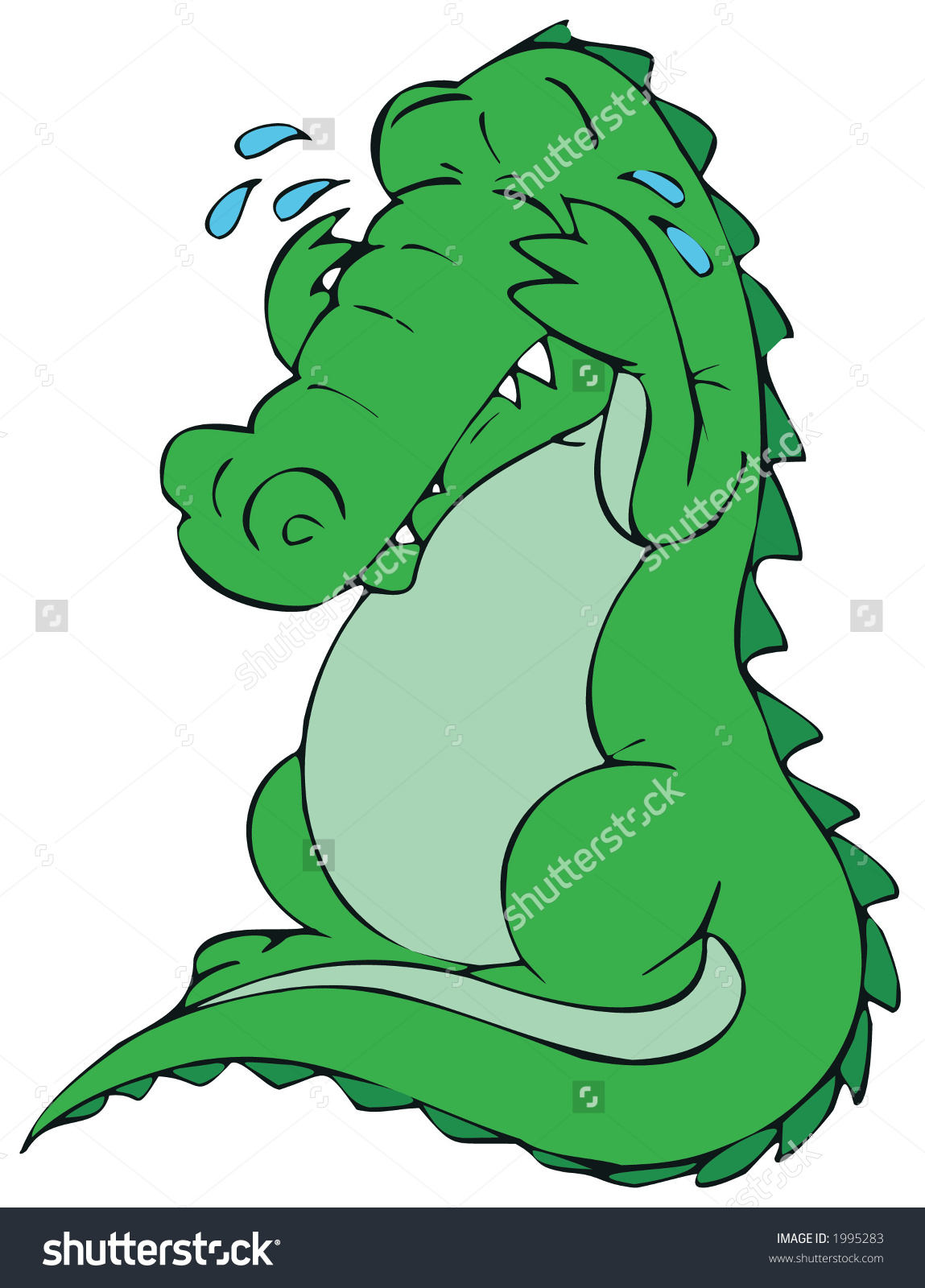 Alligator clipart sad Sadness) Its led believe sadness)